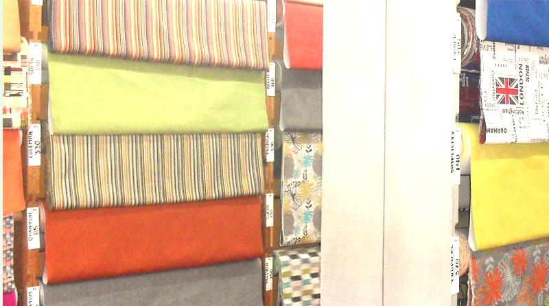 Interior de tienda Alamos CDMX nuevos modelos de telas